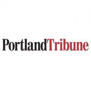 Logo for the Portland Tribune, Portland Oregon weekly paper