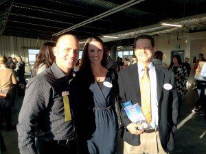 SKH client advocate Shana Sellers and associate attorney Ken Goodin attended David Rosell's book release on Thursday.