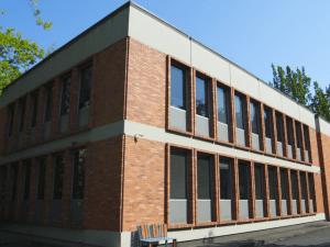 Exterior view of the new SK&H Portland office.