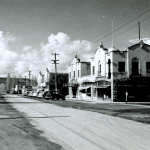 Downtown Prineville mid-century.