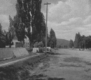 Original view of the Prineville House, 1917