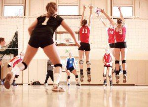 Joel Kent coaches the RimRock Volleyball team to a spot at Nationals