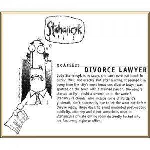Willamette Week calls Jody Portland's Scariest Divorce Attorney