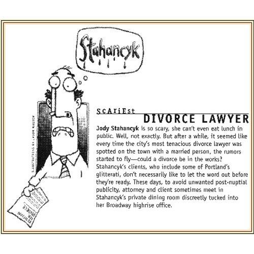 Willamette Week calls Jody Portland's Scariest Divorce Attorney Scariest Divorce Attorney