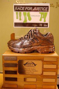 The St. Andrew Race for Justice Bronze Shoe Award