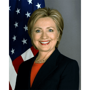 Anna attends Hillary Clinton presentation