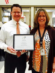 Ken Goodin Presents Education Foundation Grants