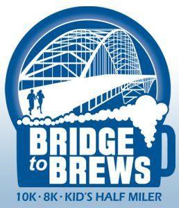 Bridge to Brews 10K, 8k and Kids Half Miler logo