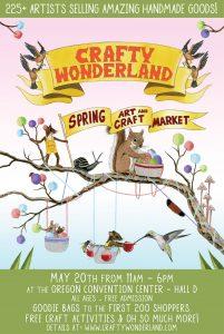 Crafty Wonderland Spring Art and Craft Market  - Stahancyk, Kent & Hook's Weekend Roundup