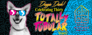 Flyer for the Oregon Humane Society's Doggie Dash, Celebrating thirty years.