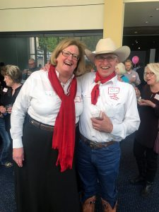 Jody Stahancyk and Pat McCabe at Oregon Historical Society Event April 27, 2017