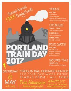 Portland Train Day 2017 Flyer