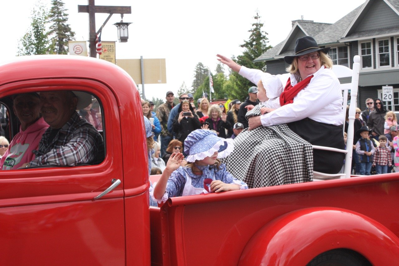 Jody Stahancyk Grand Marshal of the Crooked River Roundup 2017 in the Sisters Rodeo Parade