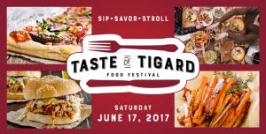 Taste of Tigard June 17, 2017 - Stahancyk, Kent & Hook's Weekend Roundup