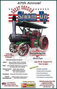 47th Annual Great Oregon Steam Up - Stahancyk, Kent & Hook's Weekend Roundup
