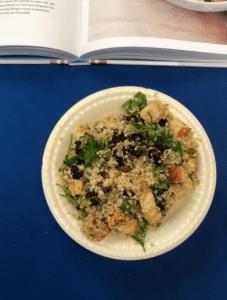 Charoset Quinoa, a recipe from Stahancyk, Kent & Hook