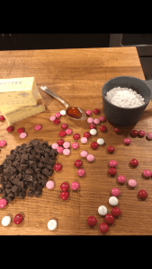 Ingredients for Chocolate Butter Frosting, a recipe from Stahancyk, Kent & Hook