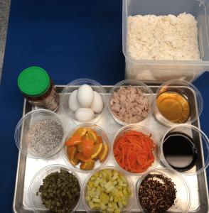 Ingredients for Breakfast Fried Rice recipe from Stahancyk, Kent & Hook