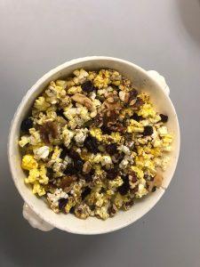Popcorn Party Mix recipe from Stahancyk, Kent & Hook