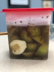 Pickled Pears, a recipe from Stahancyk, Kent & Hook